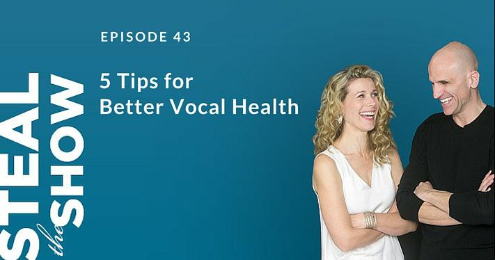 5 tips for better vocal health