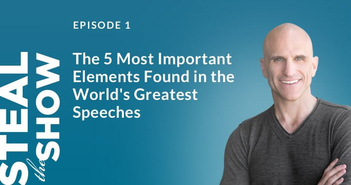 The 5 most important elements found in the world's greatest speeches