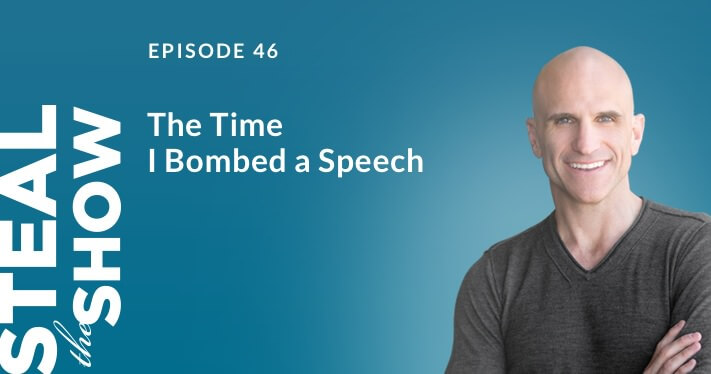 The Time I Bombed a Speech