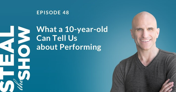 048 What a 10-year-old Can Tell Us about Performing